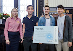ŠKODA AUTO DigiLab fördert IT-Talente beim internationalen Smart Mobility Hackathon in Prag